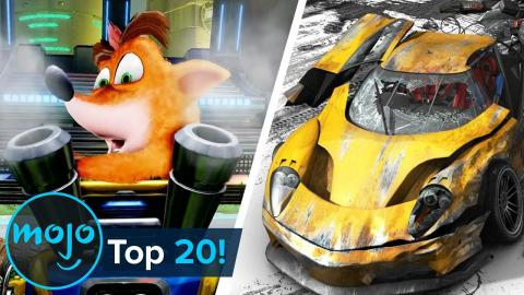 Top 20 Greatest Racing Games of All Time