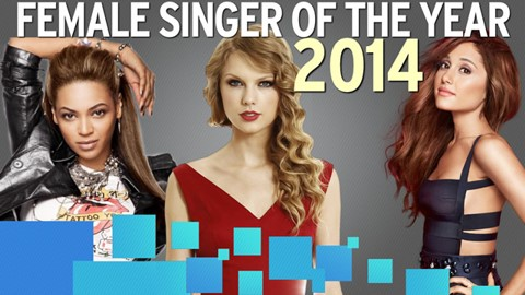 WatchMojo's Female Singer of the Year: 2014