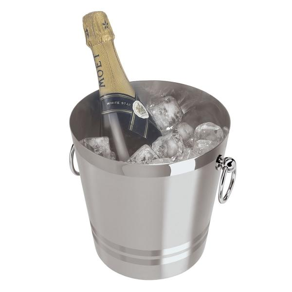 Oggi Stainless Steel Champagne Bucket