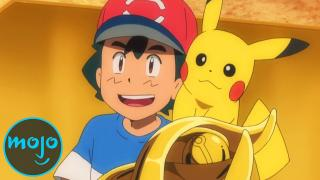 Top 10 Biggest Victories of Ash Ketchum (Pokemon)