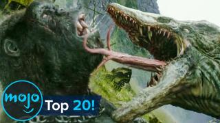 Top 10 Greatest Giant Movie Monster Fights of All Time