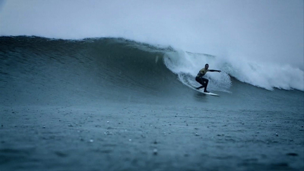 O Neill Cold Water Classic Canada 2010 Surfing In The Rain