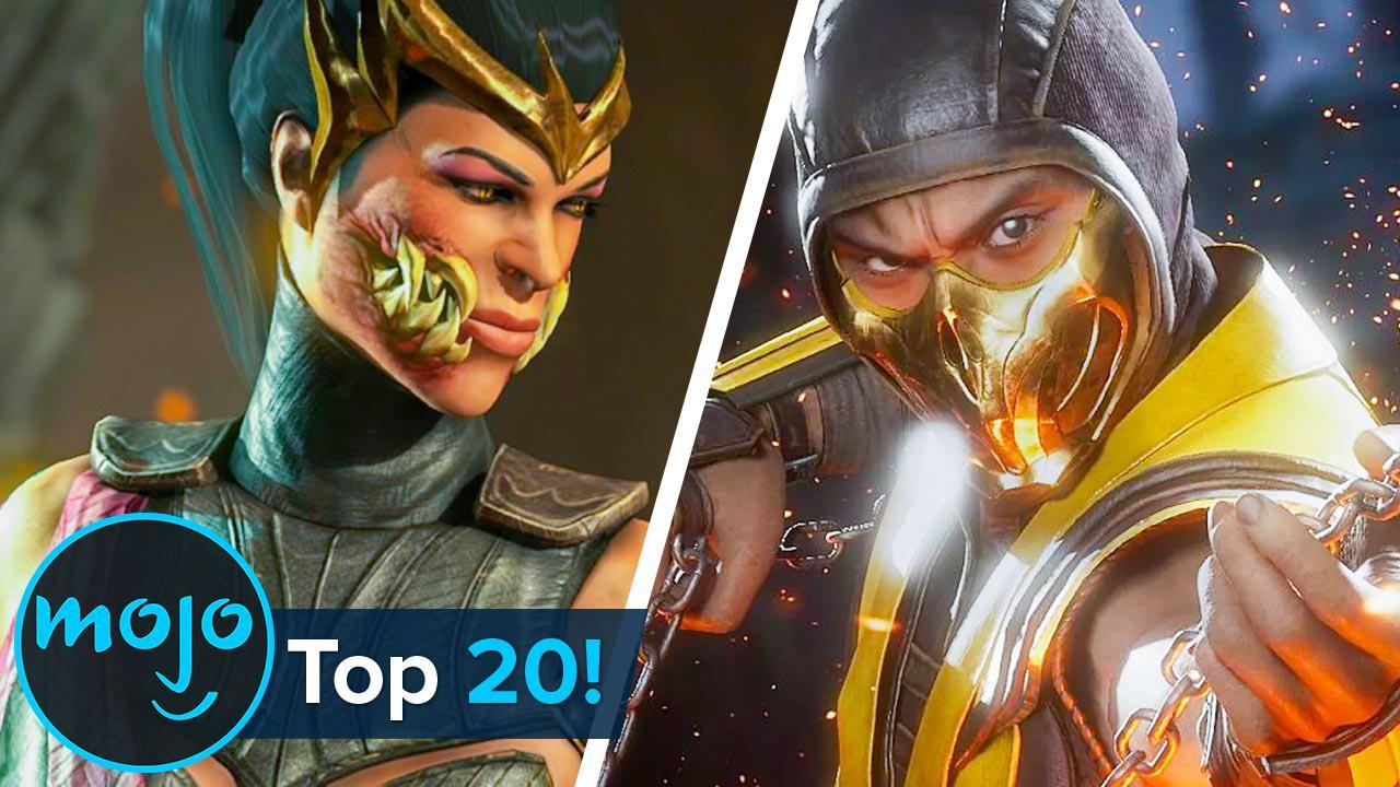 Top 20 Greatest Mortal Kombat Characters Of All Time Watchmojo Com